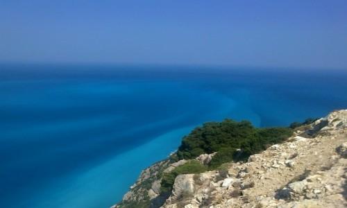 Zdjecie GRECJA / Kefalonia / okolice Myrtos / Odcienie jednego morza