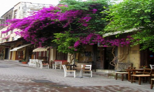 Zdjęcie GRECJA / Kreta / Chania / Chodźmy na kawę