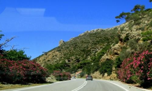 Zdjęcie GRECJA / Kreta / w drodze do Elafonisi / Droga na południe