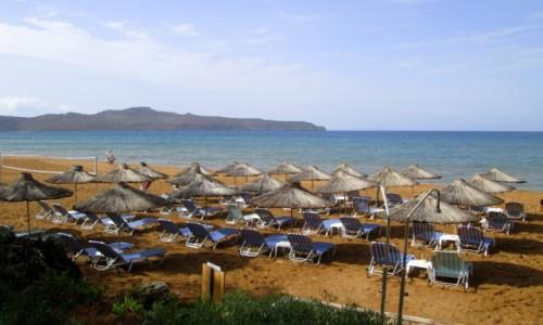 Zdjęcie GRECJA / Kreta / Agia Marina / Czekamy na turystów - strona lewa