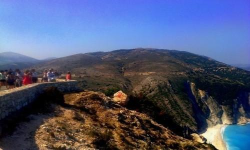 Zdjęcie GRECJA / Kefalonia / Myrtos / Myrtos z góry