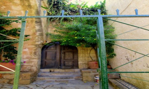 Zdjęcie GRECJA / Rodos / Lindos / Drzwi do...