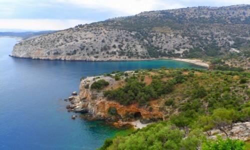 Zdjęcie GRECJA / Thassos / okolice Aliki / Szmaragdowe wody Thassos