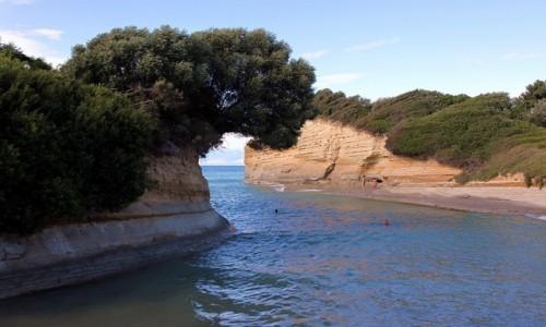 Zdjęcie GRECJA / Korfu / Sidari / Słoneczne klify