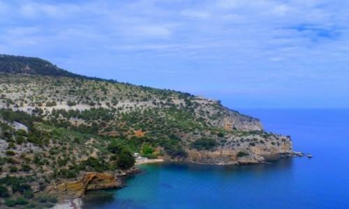 GRECJA / Thassos / okolice Aliki / Jest pięknie