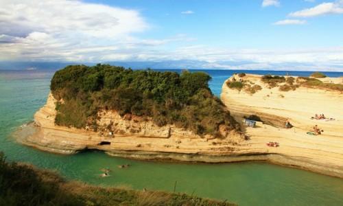 Zdjęcie GRECJA / Korfu / Sidari / Słoneczne półki