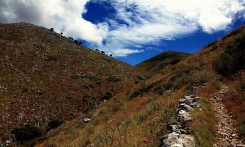 Zdjęcie GRECJA / Korfu / Pantokrator / Ścieżka