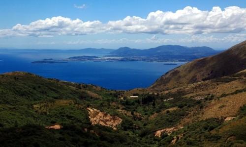 Zdjęcie GRECJA / Korfu / Pantokrator / Powrót ze spaceru