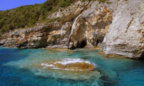 GRECJA / Korfu / W drodze na Paxos / Kolory wody - boskie!