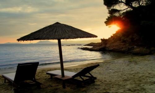 Zdjęcie GRECJA / Skiathos / Banana Beach / Romantycznie