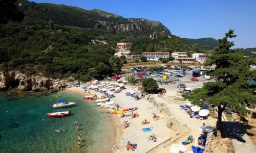 Zdjecie GRECJA / Korfu / Paleokastritsa / Pocztówka z wakacji :)