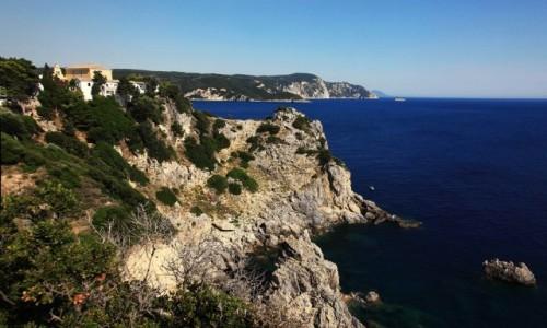 Zdjecie GRECJA / Korfu / Paleokastritsa / Góra klasztorna