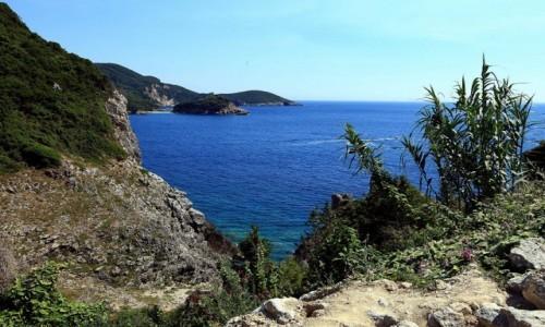 Zdjecie GRECJA / Korfu / Paleokastritsa / Punkt widokowy