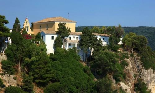 Zdjecie GRECJA / Korfu / Paleokastritsa / Klasztor Moni Theotokou