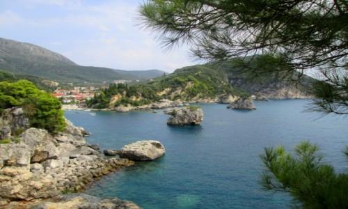 Zdjecie GRECJA / Epir / Parga / Kamienne wysepki