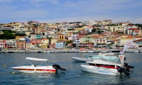 GRECJA / Epir / Parga / Parga - widok ze strony morza
