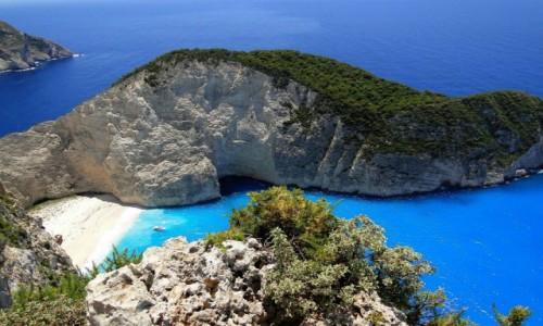 Zdjęcie GRECJA / Zakynthos / Zatoka Wraku / Barwy Zakynthos.