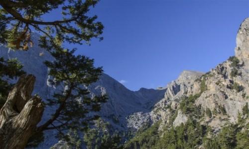 Zdjecie GRECJA / Kreta / wąwóz Samaria / Samaria