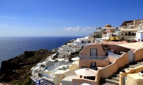 GRECJA / Santorini / Oia / Wspomnienie z Santorini.