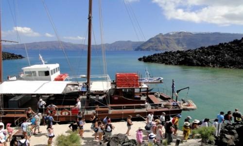 Zdjecie GRECJA / Santorini / Nea Kameni / Wspomnienie z Santorini.