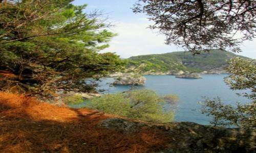 GRECJA / Epir / okolice Pargi / Wysepkowo