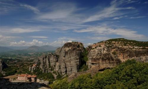 GRECJA / środkowa Grecja / równina tesalska - Meteory / Meteory