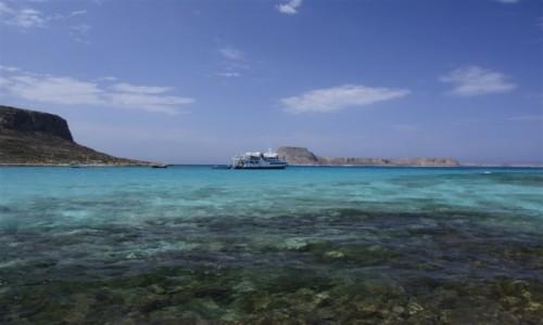 Zdjecie GRECJA / północno-zach. Kreta / zatoka Balos / Balos