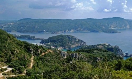 Zdjęcie GRECJA / Korfu / Palaiokastritsa / Palaiokastritsa