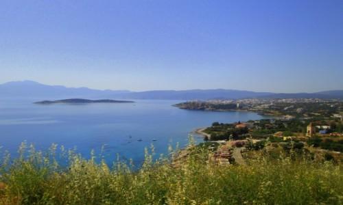 Zdjecie GRECJA / Kreta Wschodnia / okolice Plaka / Niebieskie przestrzenie