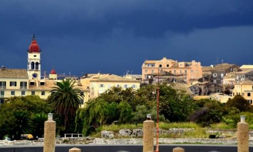Zdjęcie GRECJA / Korfu miasto / Korfu wyspa / Przed burzą