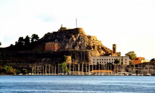 Zdjęcie GRECJA / xxx / Wyspa Korfu / Widok na Korfu z morza