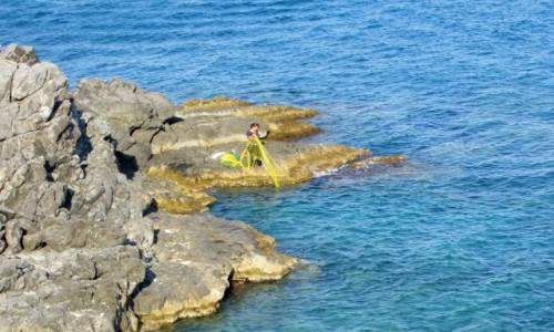 Zdjecie GRECJA / Rodos / okolice Kriotari / Córka rybaka