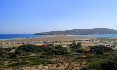 Zdjęcie GRECJA / Rodos / Prasonisi / Dwa morza