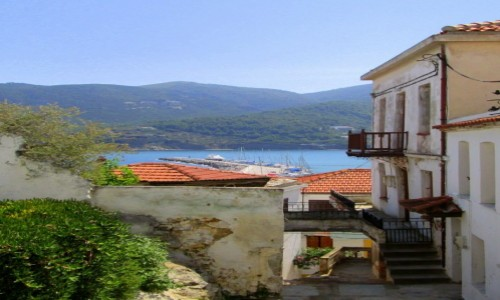 Zdjecie GRECJA / Sporady Północne / Skopelos / Skopeloskie zaułki