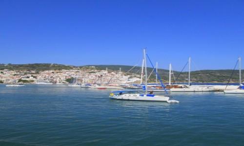Zdjecie GRECJA / Sporady Północne / Skopelos / Na horyzoncie Skopelos