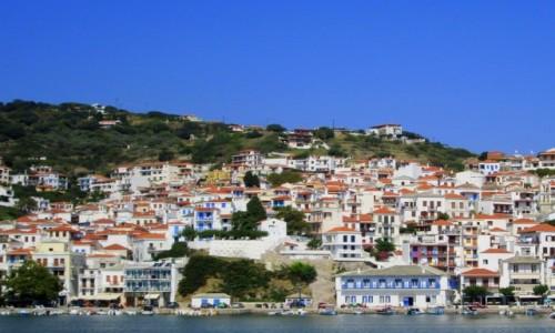 Zdjecie GRECJA / Sporady Północne / Skopelos / Wyspa z filmu Mamma Mia - Skopelos