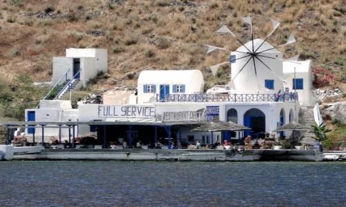 GRECJA / Santorini / Thirasia / Wspomnienie z Santorini.
