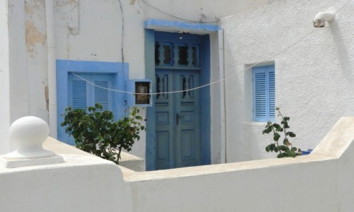 GRECJA / Santorini / Thirasia. / Z serii: santoryńskie zakamarki.