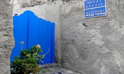 Zdjecie GRECJA / Santorini / Mesa Gonia / Z serii: santoryńskie zakamarki.