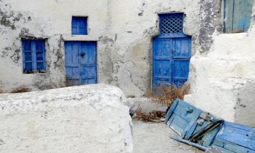 Zdjecie GRECJA / Santorini / Thirasia / Z serii: santoryńskie zakamarki.