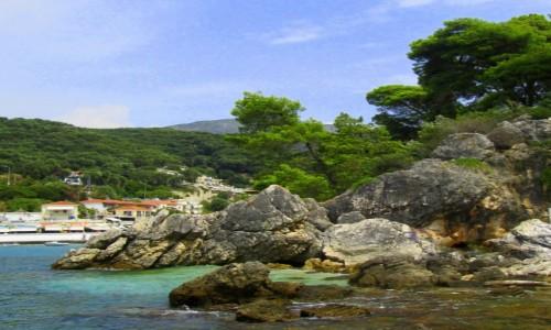 GRECJA / Epir / Parga / Malownicze skały