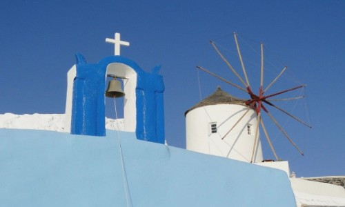 Zdjęcie GRECJA / Cyklady / Santorini, Oia / Wspomnienie z Santorini.
