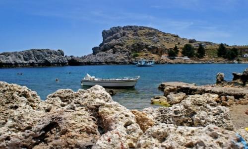 Zdjęcie GRECJA / Rodos / Okolice Lindos / Zatoka św.Pawła