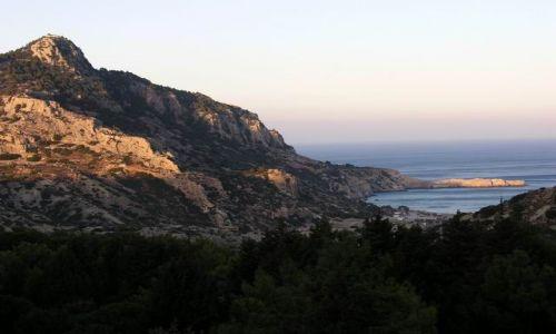 Zdjecie GRECJA / RODOS / RODOS / TSambika - w drodze na plaże