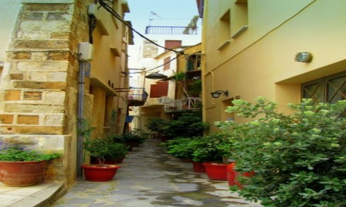 Zdjęcie GRECJA / Kreta Zachodnia / Chania / Zaułki Chanii