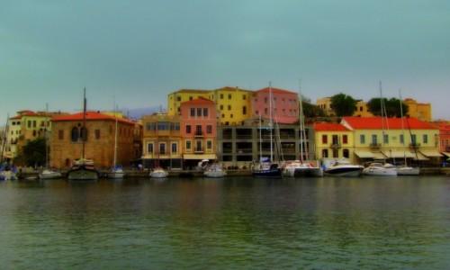 Zdjęcie GRECJA / Kreta Zachodnia / Chania / W porcie