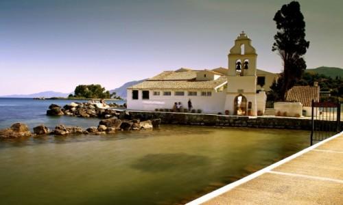 Zdjęcie GRECJA / Korfu / Pontikonissi / Klasztor