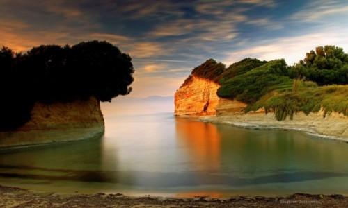 Zdjecie GRECJA / Korfu / Sidari / Klifowe wybrzeże i Canal d'Amour