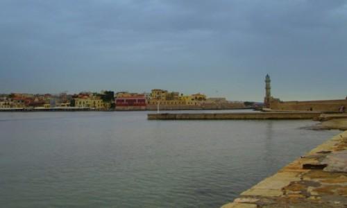 GRECJA / Kreta Zachodnia / Chania / Minaretowata latarnia morska