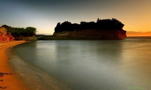 Zdjecie GRECJA / Korfu / Sidari / Kolor wschodzącego słońca